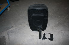 Mobile PA speaker with built-in battery