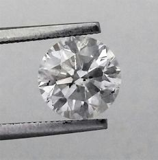 *** 2.50 carat  - D color - SI2 clarity  - 3 x EX - Natural Diamond  Comes With Big AIG Certificate + Laser Inscription On Girdle .