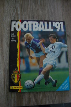 Panini - Football 1991 Belgian league - Complete album