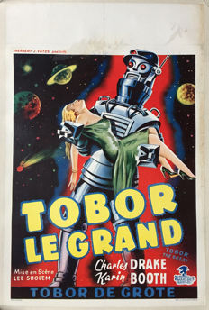 Anonymous - Tobor le Grand / Tobor the great (Lee Sholem) - 1957