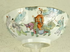 Porcelain bowl - China - Republic period (1912-1949)
