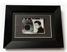 ✰ Elvis Presley ✰  Authentic & Original Worn piece of Elvis Black Jacket - Limited Edition