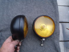 Two FOG LIGHTS by the brand SEV MARCHAL type EQUILLIX with a diameter of 135 mm
