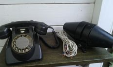 Bakelite telephone with extra bell