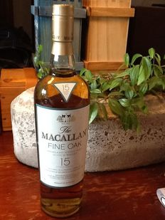 Macallan fine oak 15 years old