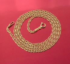 18k/750 Yellow Gold Necklace Nonna - 50 cm - 2.98 gr ///No reserve price///