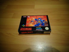 "Snes ""Mega Man 7"" Fully Complete and Extremely Rare"