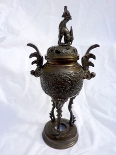 Superb incense burner - Japan - 19th century