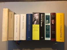 Biographical; Lot with 10 biographies of Dutch authors - 1987 / 2007