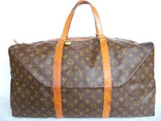 Louis Vuitton - Sac Souple 55 (Keepall square version) + LV padlock (311) with 2 keys - **No Minimum Price**