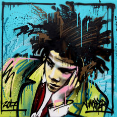 James HOPPER - Blue Basquiat