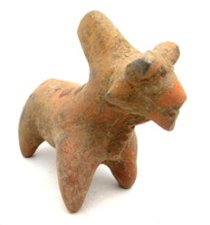 Indus Valley Terracotta Horse Figurine - 72mm