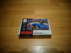 "Super Nintendo ""Turtles in Time"" Fully complete rare FAH Version"