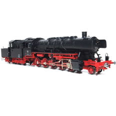Fleischmann H0 -  4175/92 - Steam locomotive BR 50 with towed cabin tender of the DB