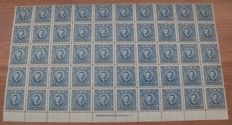 China 1932/1947 - Collection of stamps in blocks
