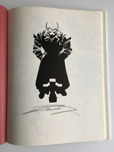 Graphitti Designs - Elektra Lives Again - Rare!! Signed & Numbered Limited Edition Hardcover - Signed by Frank Miller - 1x sc - (1990)
