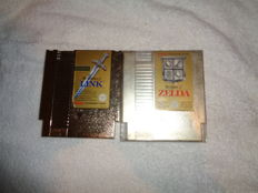 Nes Zelda 1 and Zelda 2