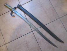 French Bayonet Yataghan Sword Chassepot 1866
