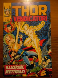 Thor e i Vendicatori - 12x albums - issues nos. 232/243 very rare, conclusive sequence (1980)