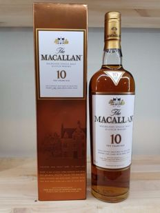 Macallan 10 years old sherry cask