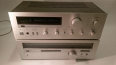 Sansui A-60 amplifier and T-60 tuner