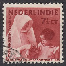 Dutch East Indies 1938 - Mission, vertical watermark - NVPH 243a