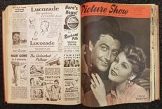 Magazines; Picture Show - 5 volumes - 1949/1953