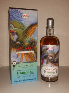 Rum Silver Seal Hampden Jamaica 1993-2015 Luxury Box 22 Years Single Cask