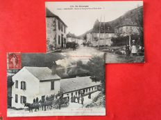 France good selection of 59 postcards on the theme: small towns in the Southwest 1900 / 1920