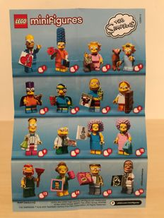 Collectible Minifigures The Simpsons Serie 2