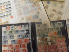 German Reich 1872/1945 - in 3 thick stock books, stocked very well