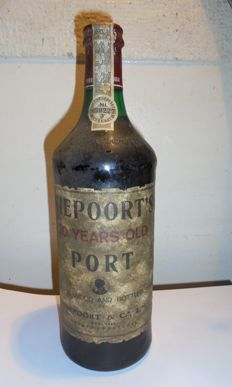 20 years old Tawny Port Niepoort - bottled in 1981