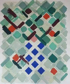 William Tillyer - Abstract composition