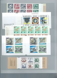 Sweden - Collection of stamp booklets