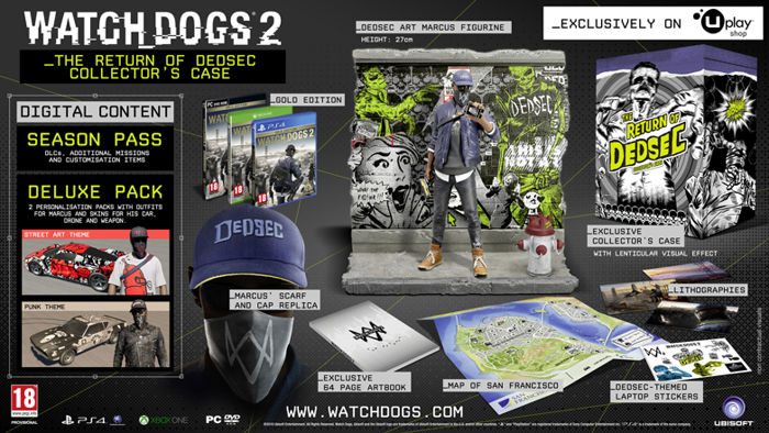 Watch Dogs  Return Of Dedsec Edition