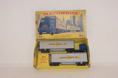 Lesney Matchbox - Scale 1/78 - Hendrickson Tractor Unit with Inter-State Double Freighter 'Cooper Jarret' Major Pack M9-a