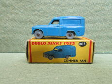 Dublo Dinky Toys - Scale 1/76 -  Commer Van No.063