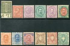 Italy, Kingdom, 1863 – Lot of selected specimens