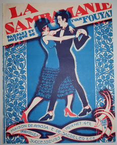 Peter de Greef - sheet music La Sambamanie