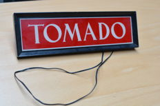 Tomado neon sign