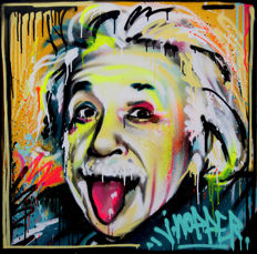 Jone Hopper - Albert Einstein portrait