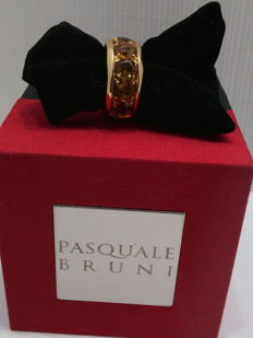 Pasquale Bruni - 750‰ gold - Shank ring - Stones weight  4.66 ct - Total weight  22 g - Ring size 14/15