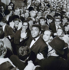 Unknown/Getty Images/Archive Photos - Muhammad Ali in London, 1966