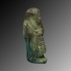 Inscribed overseer shabti - 5,8 cm
