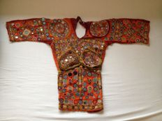 Traditional Banjara Tribal Kutchi Hand Embroidered Blouse - India - Mid 20th Century
