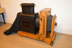 Probably Thornton Pickard Enlarger Magic Lantern with Aldis Anastigmat lens - Ca 1900