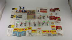 Gauge G - LGB/Bachmann/Pola - 40-Piece Scenery collection with among others Figures, construction kit bicycles and cargo