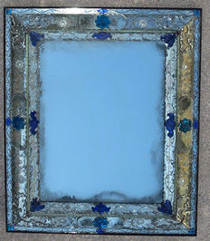 Wall glass mirror - Venice, Italy - ca. 1850