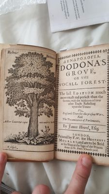 James Howell - Dendrologia. Dodona's grove, or the vocall forest· The last edition much more exact and perfect than the former - [1649]