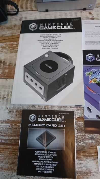 nintendo gamecube complete with 9 games catawiki rh auction catawiki com manual de nintendo gamecube Nintendo DS